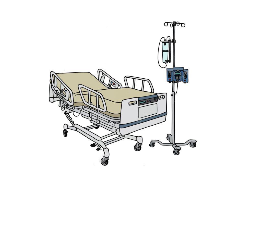 Hasta Karyolası 4 Motorlu